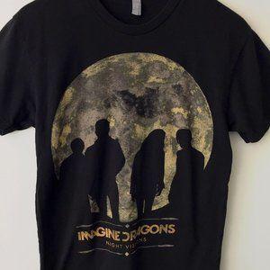 Imagine Dragons Night Visions Graphic Tee Shirt S